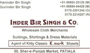Inderbir Singh