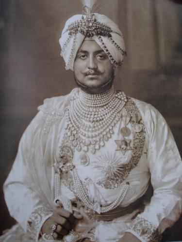 Maharaja Bhupinder Singh.