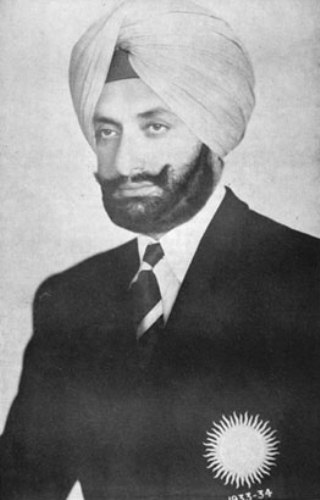 Maharaja Yadavindra Singh.